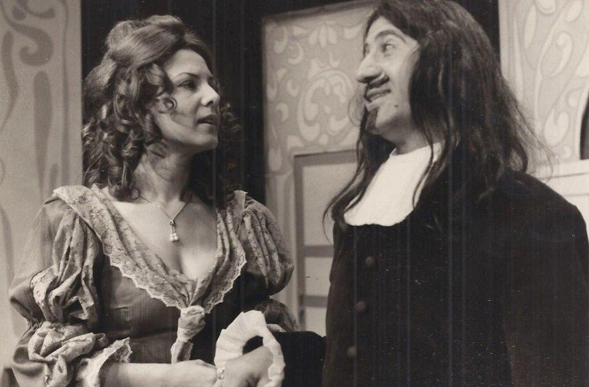 From the play 'Tartoufo' by Moliere. Staged by the Cyprus Theater Organization - 1973.