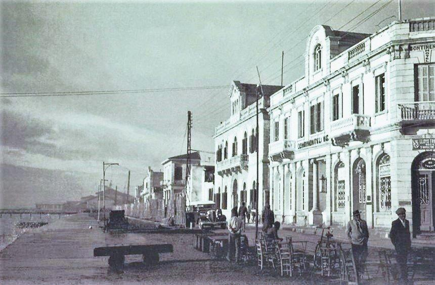 The Continental hotel in the beginning of the 20th century.