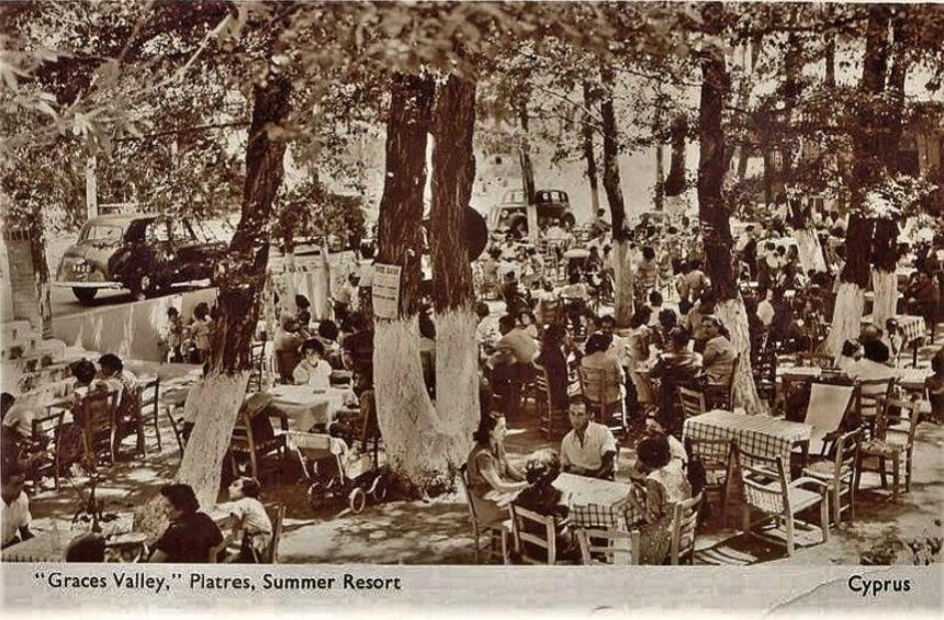 Images from holidaymakers' vacations in Platres during the last century!