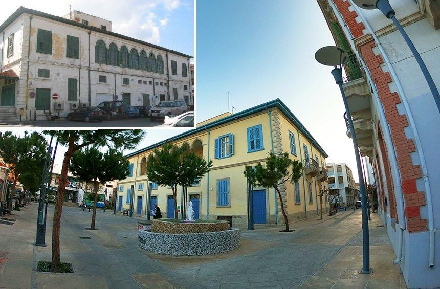 The historic building in Limassol that was recreated as a Deanery today!
