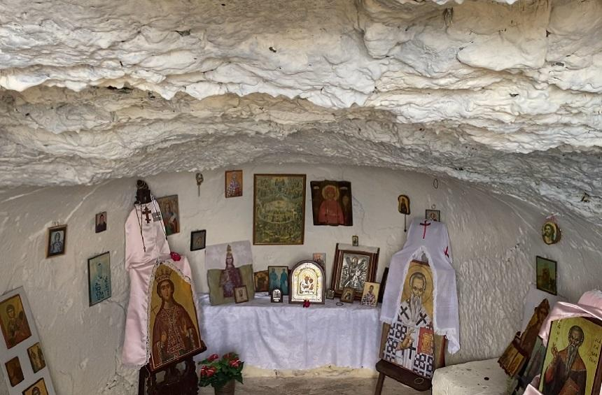 The Cave of Saint Barbara