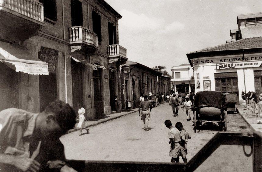 Saripolou Square in the mid-20th century.