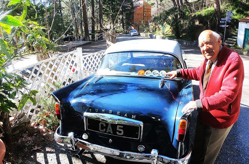 For Heracles, this car is not just a means of transport, as he regularly uses it to participate in classic car challenges in Cyprus and abroad.
