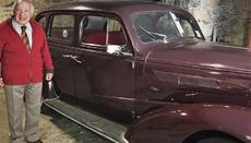 In the hotel's garage, a bulky 1937 Chevrolet is stored in excellent condition. This was the car that Georgios Skyrianides drove, and the car with which King Farouk was transported during his visit to the area.