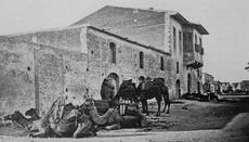 The great grandfather of the family, Georgios Skyrianides, had build his house, with warehouses on the groundfloor, on the Limassol seafront, at the late 19th century.