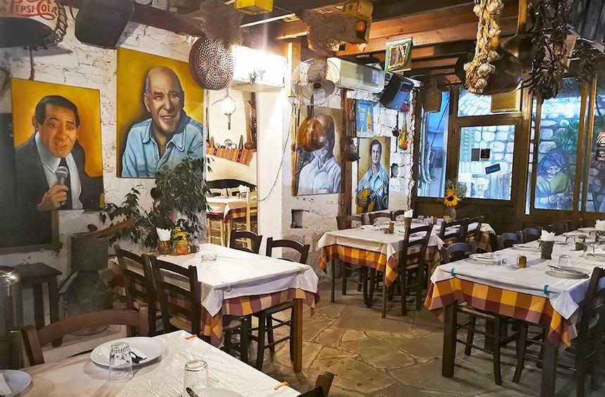 Skourouvinnos: The 'trickster' of Ayios Athanasios became one of the most well-known taverns in Limassol!