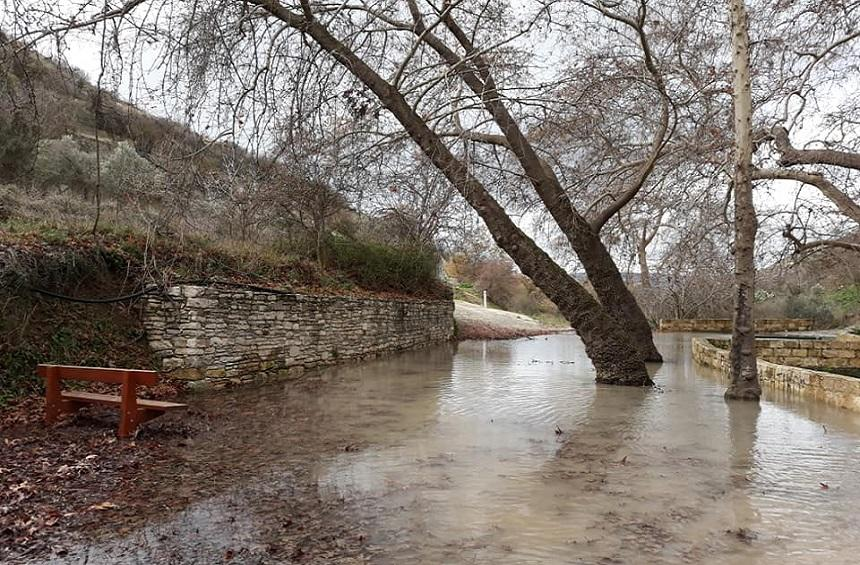 The headwaters at the entrance of the village. Photo: Solonas Kyriakou