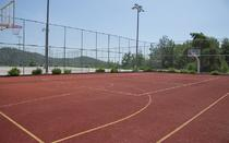 Baskeball field.