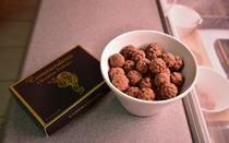 Pralines with commandaria flavor are an innovative idea of the winery.