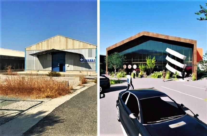 PHOTOS: The impressive transformation of an industrial building in Limassol!