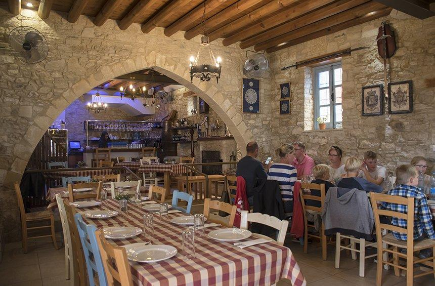 'To Katoi' Restaurant: A space with references to the Medieval traditions of Limassol!