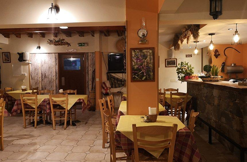 To Pezema: A little tavern in the mountainous region of Limassol, with chicken shieftalia that is sure to amaze!