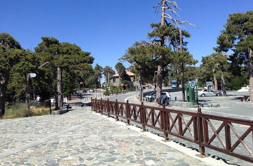PHOTOS: A new image from the most popular landmark in Troodos!
