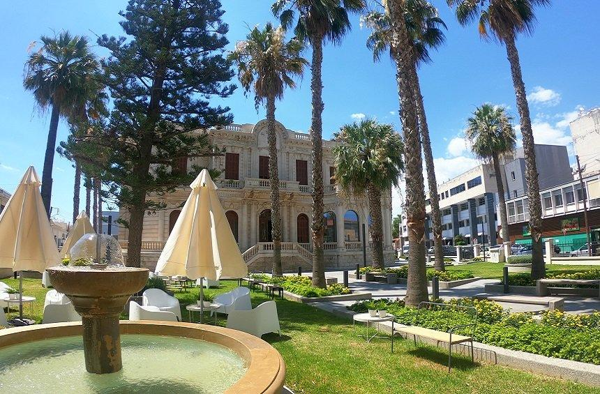 The Limassol Municipal University Library Gardens